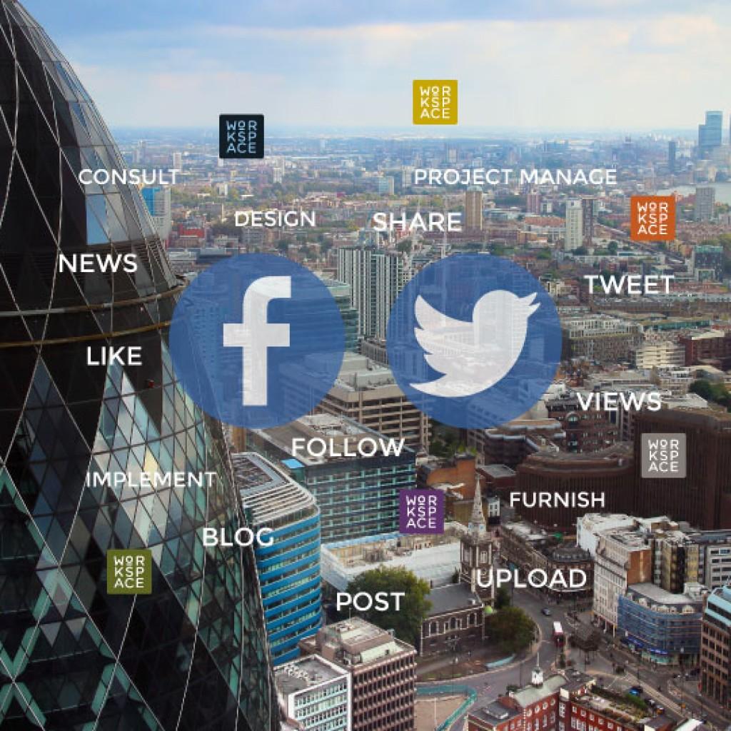 Workspace-social-media