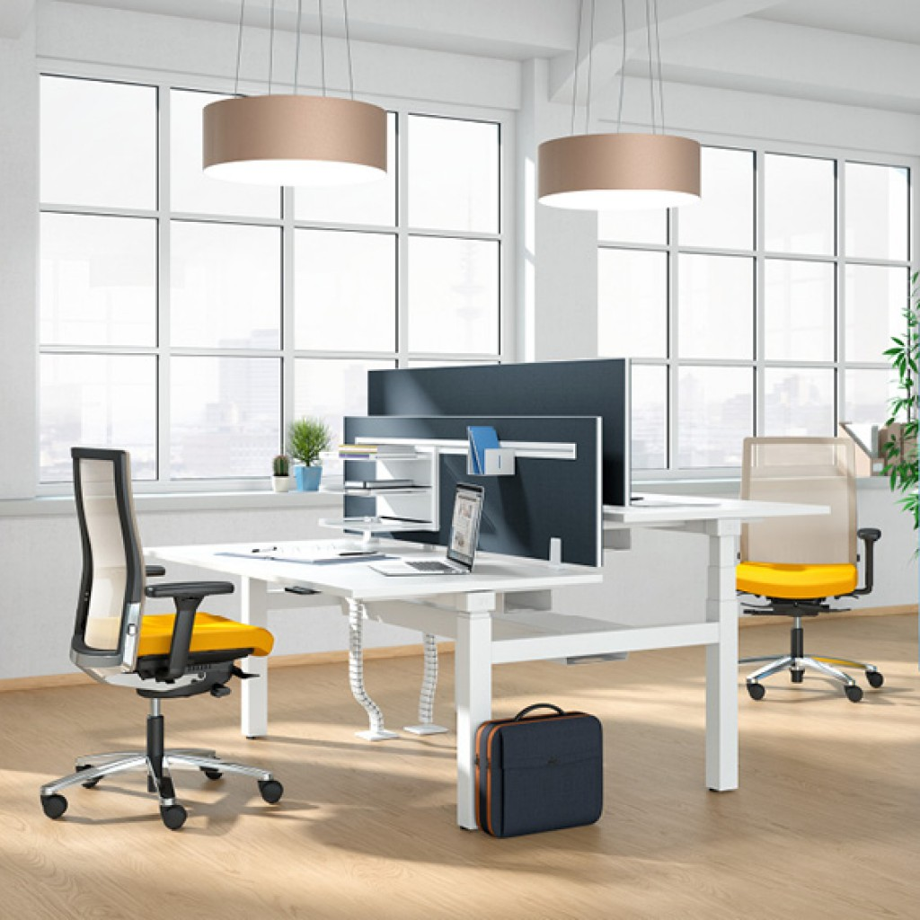The sit-stand workstation K+N