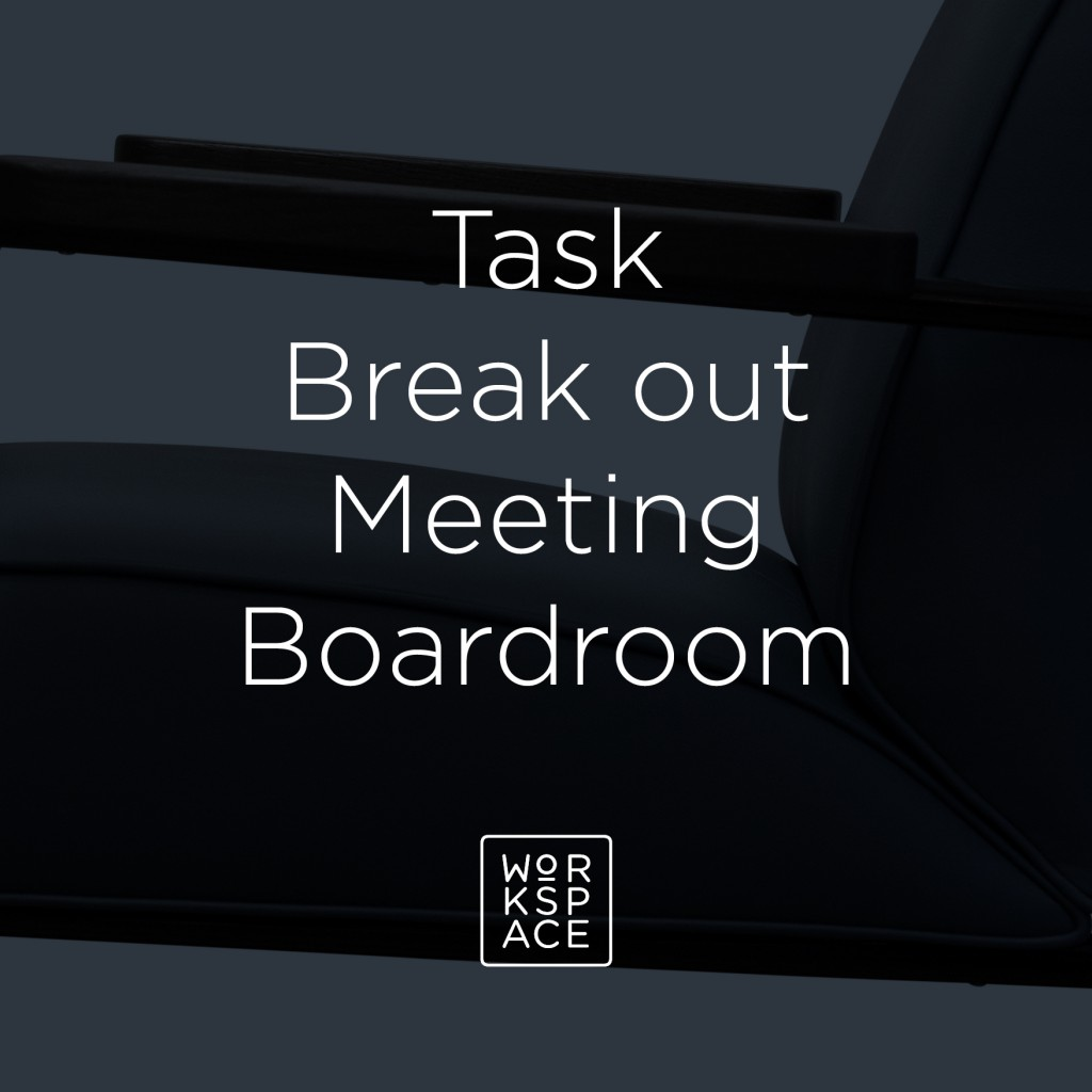 Task breakout meeting boardroom