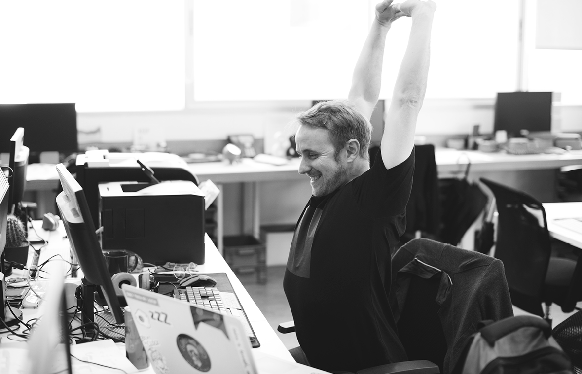 Working out at work: Desk exercises for a happy, healthy workforce