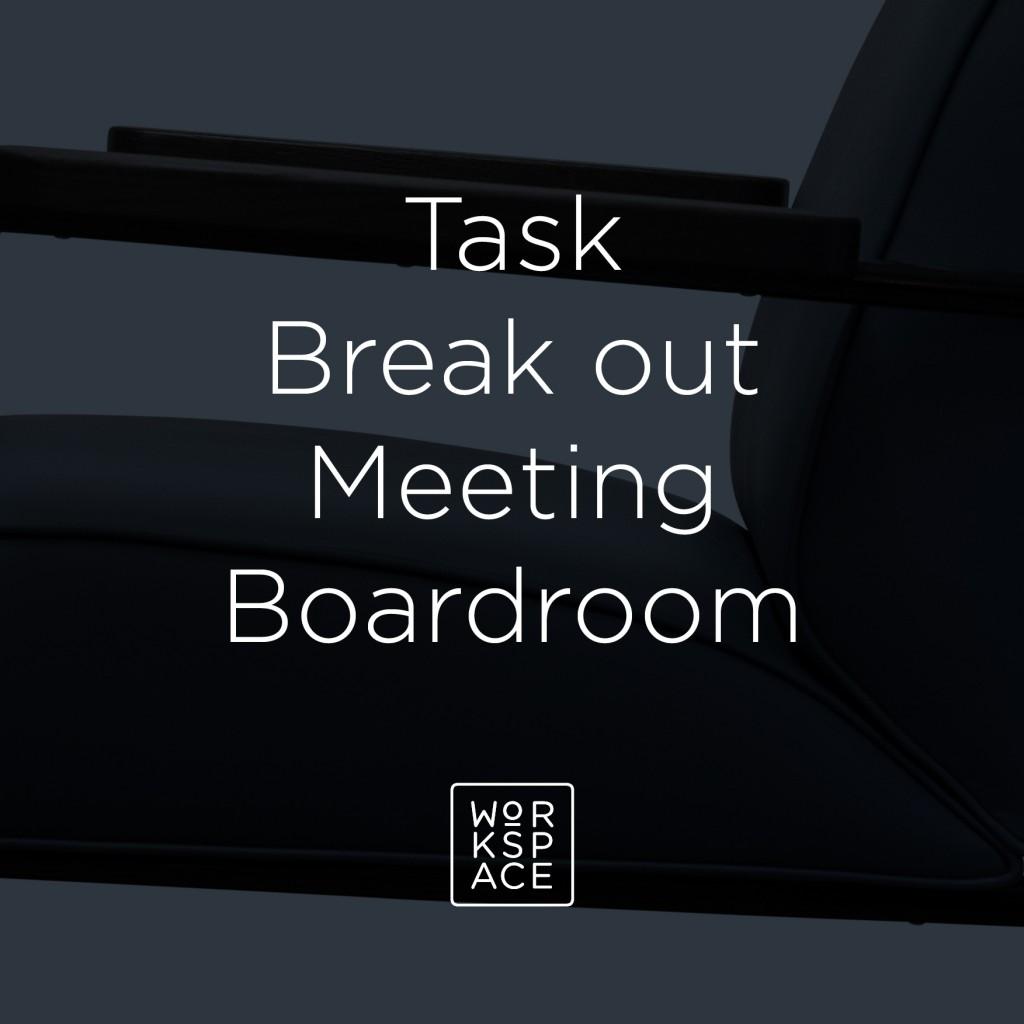 Task breakout meeting boardroom