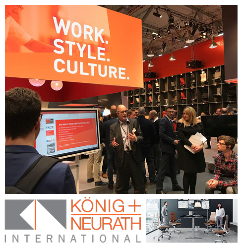 Workspace Design at Orgatec 3